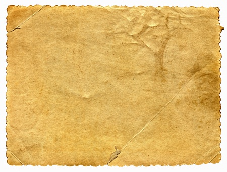 old dirty paper with space for text Stock Photo - 9380061