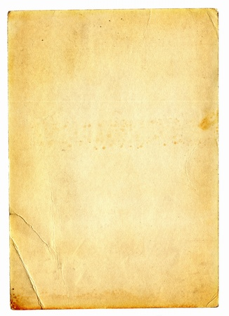 old dirty paper with space for text Stock Photo - 9380116