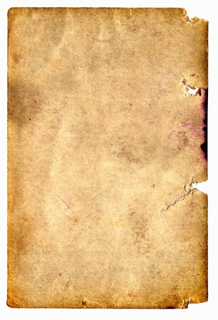old dirty paper with space for text Stock Photo - 9380120