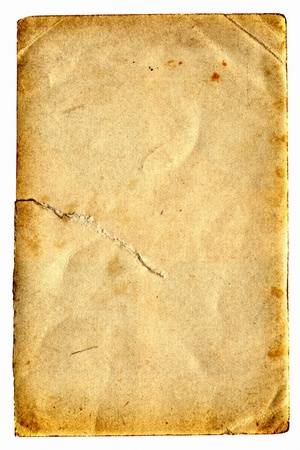 old dirty paper with space for text Stock Photo - 9380082