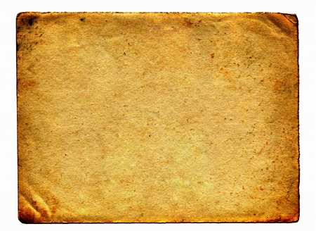 old dirty paper with space for text Stock Photo - 9872790