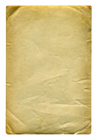 Old and Vintage Paper Isolated On The White Background Stock Photo - 21853875
