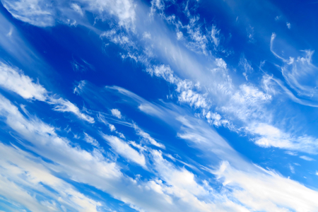 nebulosity: Background of Blue Sky with Small Clouds