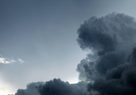 padding: Storm Cloud closeup on the Sky Background