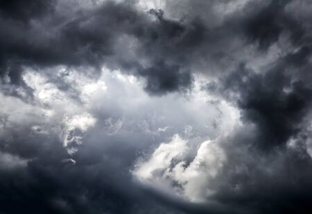 blackness: Natural Dramatic Clouds Area Background
