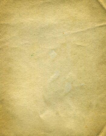 Alte und Vintage Papierseitenstruktur Standard-Bild