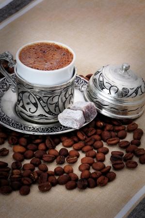 Caff? turco Archivio Fotografico