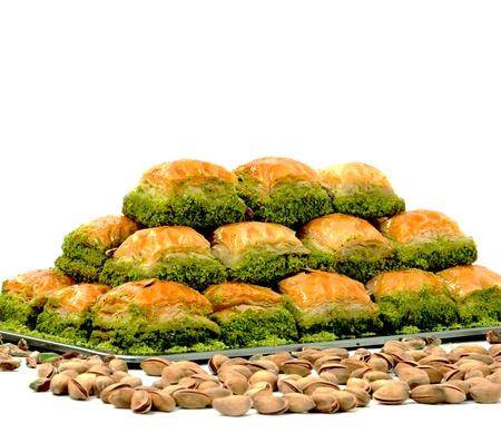 turkish dessert: Turkish Dessert Stock Photo