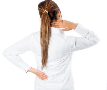 mujeres de espalda: Espalda y dolor de cuello