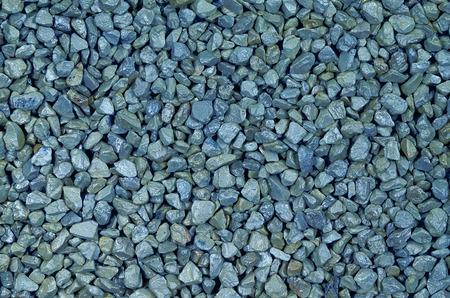gravelly: close up of blue pebbles, macro, full frame, horizontal,  full frame