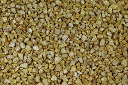gravelly: close up of brown pebbles, macro, full frame, horizontal,  full frame