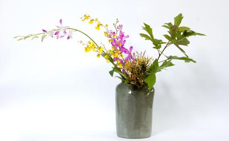 ikebana: ikebana asia thai orchid  flower decoration