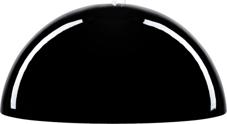 A Close Up Partial View of a Black Floor Lamp. Stock Photo