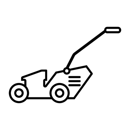 Grass-cutter line icon. vector illustration isolated on white. outline style design, designed for web and app. Eps 10
