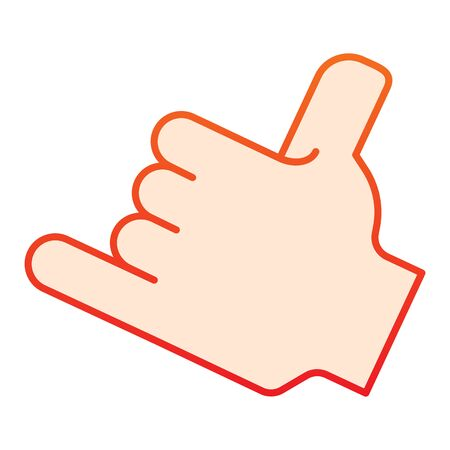 Hand pointing right solid icon. Direction vector illustration isolated on white. Pointer glyph style design, designed for web and app. Eps 10.