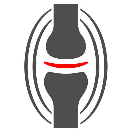 Joint pain solid icon, body pain concept, joint ache vector sign on white background, glyph style icon for mobile concept and web design. Vector graphics.