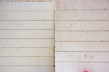 Texture of stack of Lightweight brick Stock Photo