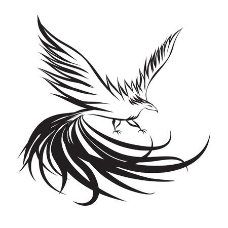 vector image of Phoenix