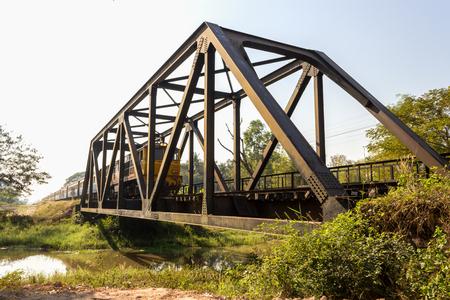 railway points: Railway bridge