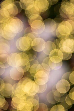 Holiday bokeh light. Abstract Christmas background Stock Photo