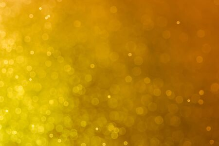 shiny gold: Abstract golden bokeh background