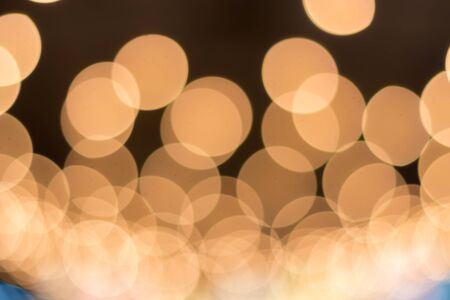 Defocused abstract bokeh lights christmas background