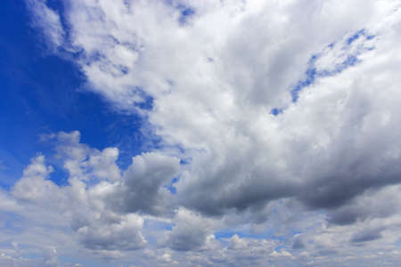 white cloud on blue sky. Stock Photo