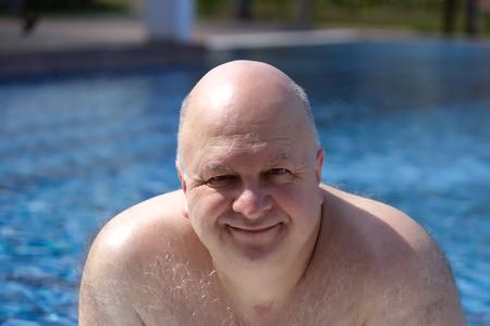 50 대머리 남자 스톡 콘텐츠