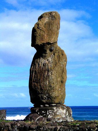 moai: moai Stock Photo