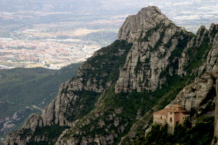 conglomeration: montserrat Stock Photo