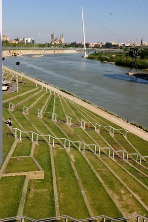 zaragoza: Zaragoza Expo Stock Photo