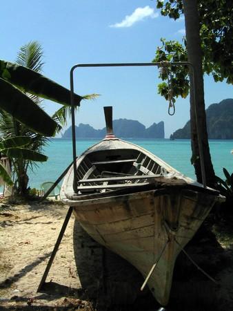 Phi Phi island boat,Thailand