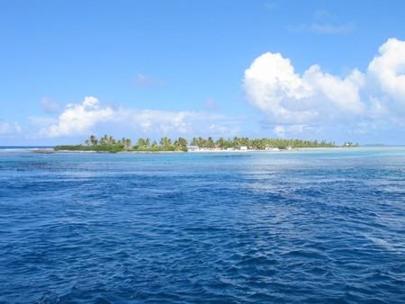 Island landscape photo
