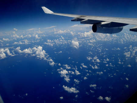Flight to Guatemala Stock Photo