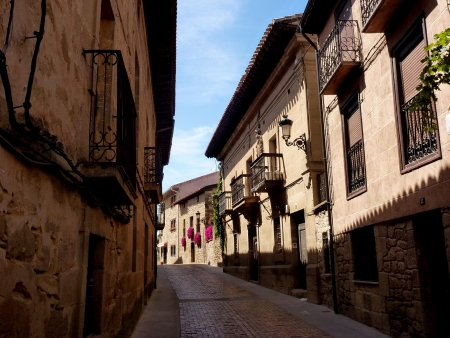 la rioja: Elciego, Alava, La Rioja,Euskadi, Basque country, Spain
