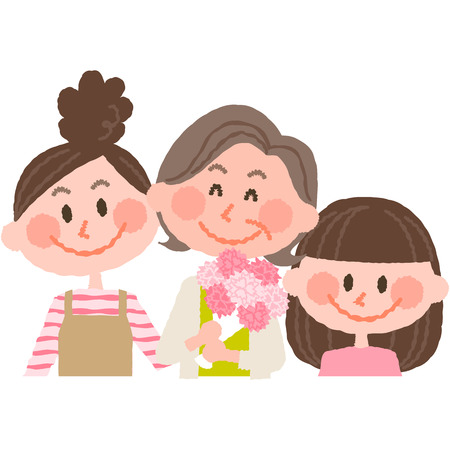 mammy: mothers day Illustration
