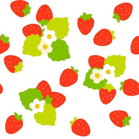 イチゴ  イラスト・ベクター素材