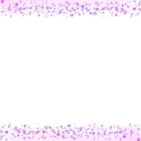 Rahmen von Pastellfarben Aquarellmalerei Textur von Vektordaten