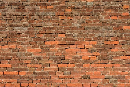 red brick wall: abstract background pattern red brick wall - texture
