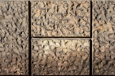profiled: profiled wall of sandstone - texture to background