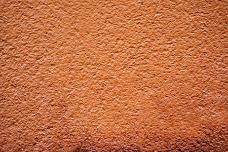 stucco texture: brown plaster wall for background or texture Stock Photo
