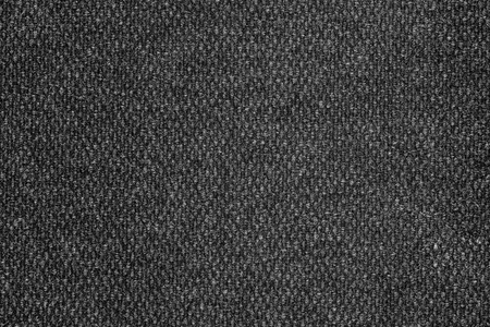 carpeting: dark gray textile surface - background texture Stock Photo