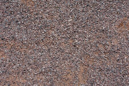 pebblestone: small bright pebbles and gravel as background or texture Stock Photo