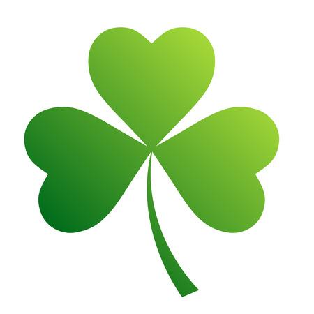 Irish shamrock leaves background for Happy St. Patrick s Day.