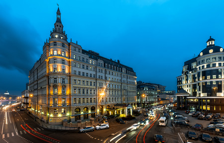 megapolis: Russia. Moscow. Hotel Baltschug Kempinski.