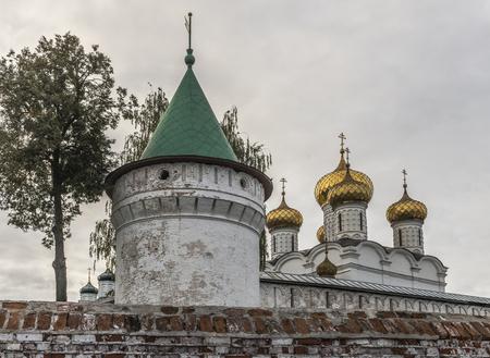 Kostroma, Russia - September 15, 2016: Holy Trinity Monastery Ipatiev. Editorial