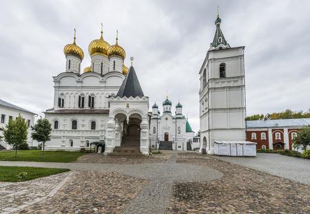 Kostroma, Russia - September 14, 2016: Holy Trinity Monastery Ipatiev inside. Editorial