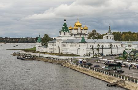 kostroma: Kostroma, Russia - September 14, 2016: Holy Trinity Monastery Ipatiev.