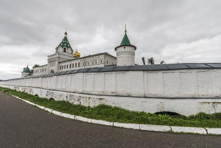 14: Kostroma, Russia - September 14, 2016: Holy Trinity Monastery Ipatiev.