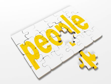 pertaining: word puzzles pertaining to the business on a white background,